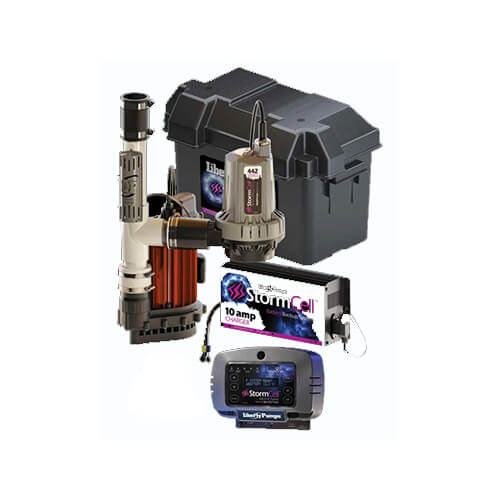 Stormcell Battery Back Up Pump Standard System w/ NightEye (10A) Product Image
