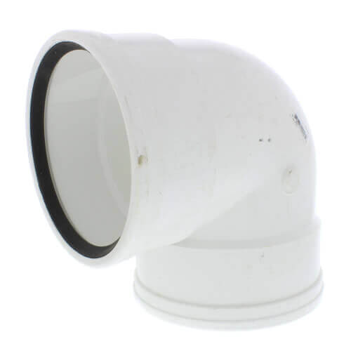 """10"""" PVC SDR 35 1/4 Bend 90° Elbow (G x G) Product Image"""
