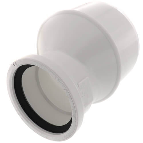 """8"""" x 4"""" PVC SDR 35 Increaser Bushing (Eccentric SPG x G) Product Image"""