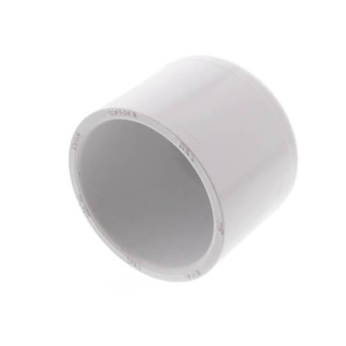 """1-1/4"""" PVC Schedule 40 Cap Product Image"""
