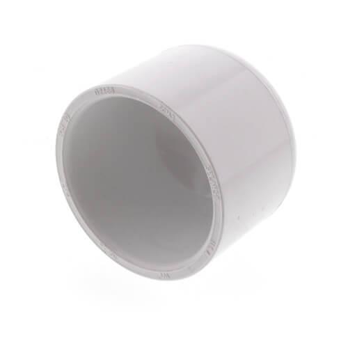 """1-1/2"""" PVC Schedule 40 Cap Product Image"""