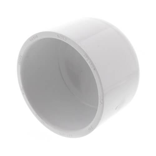 """2-1/2"""" PVC Schedule 40 Cap Product Image"""
