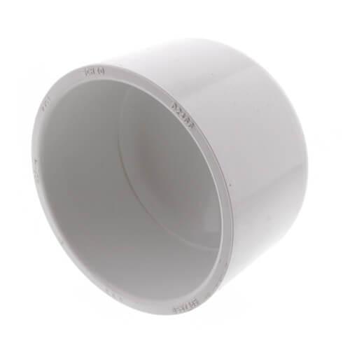 """3"""" PVC Schedule 40 Cap Product Image"""