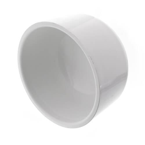 """4"""" PVC Schedule 40 Cap Product Image"""