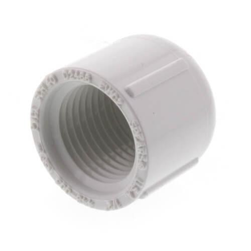 "1/2"" PVC Schedule 40 Female Cap Product Image"