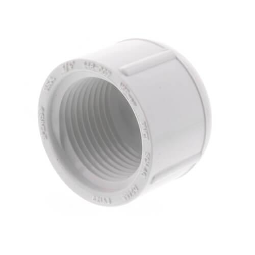 "3/4"" PVC Schedule 40 Female Cap Product Image"
