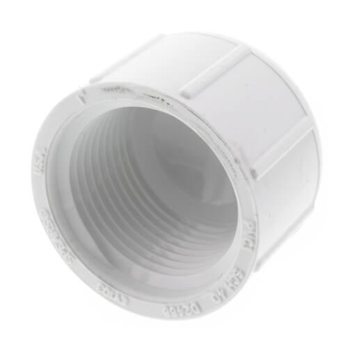 "1"" PVC Schedule 40 Female Cap Product Image"