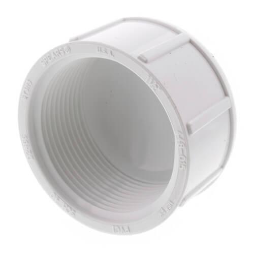 "1-1/2"" PVC Schedule 40 Female Cap Product Image"
