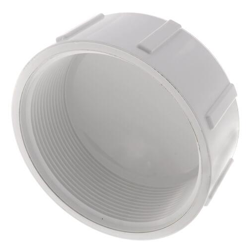 "4"" PVC Schedule 40 Female Cap Product Image"