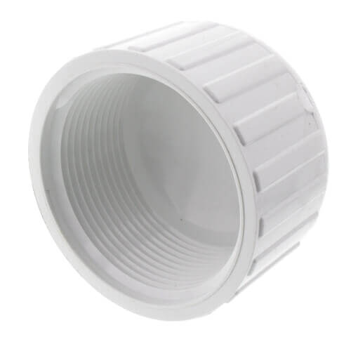 "10"" PVC Schedule 40 Female Cap Product Image"
