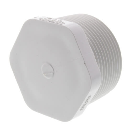 """1-1/2"""" PVC Schedule 40 Male Threaded Plug Product Image"""
