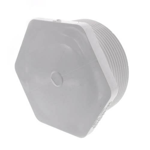 "3"" PVC Schedule 40 Male Threaded Plug Product Image"
