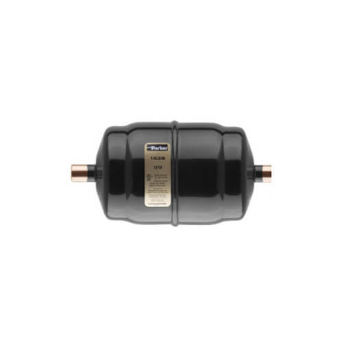 """1/4"""" SAE Male LLD 032 Gold Label Liquid Line Filter-Drier (3 Cubic Inches) Product Image"""