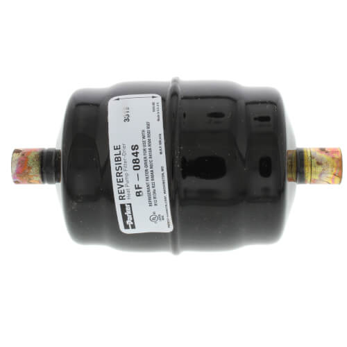 """1/2"""" ODF Sweat BF084S Bi-Flow Liquid Line Filter-Drier (8 Cubic Inches) Product Image"""