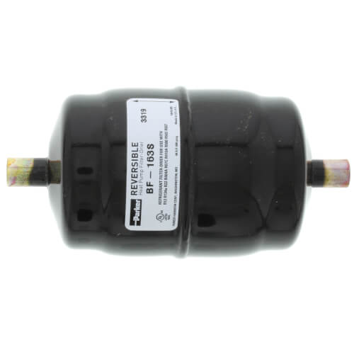 "3/8"" ODF Male BF163S Bi-Flow Liquid Line Filter-Drier (16 Cubic Inches) Product Image"