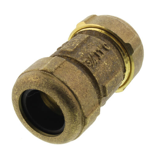 """3/4"""" IPS Brass Compression Coupling (Lead Free) Product Image"""