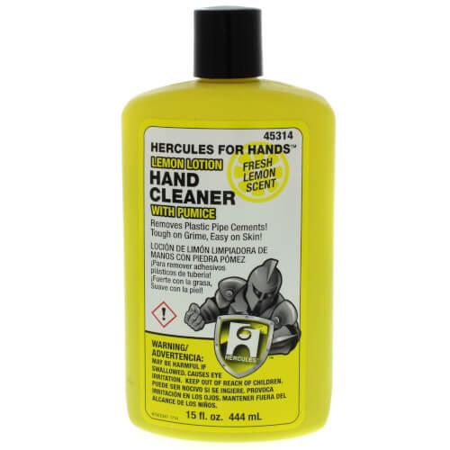 Hercules for Hands Lemon Lotion Hand Cleaner (flip-top-cap) - 15 oz Product Image