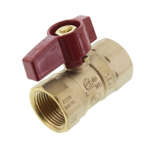 """3/4"""" Gas Ball Valve Product Image"""