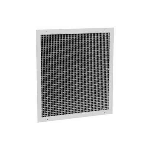 """22"""" x 22"""" Aluminum Egg Crate Return Grille w/ Insulated Back (RE5TI Series) Product Image"""