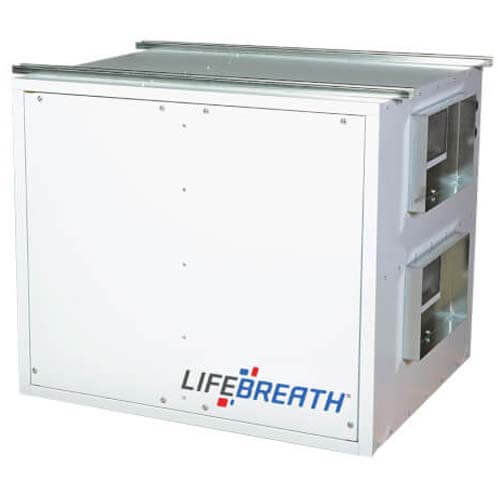 455 DD Commercial Heat Recovery Ventilator, Damper Defrost, 460 CFM Product Image