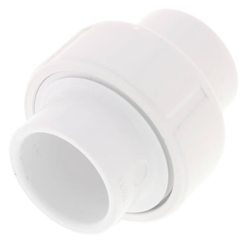 "3/4"" PVC Sch. 40 Socket Union w/ Buna-N O-ring Product Image"