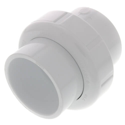 "1-1/2"" PVC Sch. 40 Socket Union w/ Buna-N O-ring Product Image"