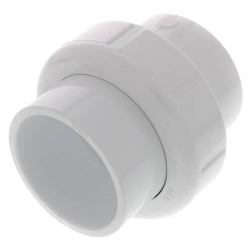 """6"""" PVC Sch. 40 Socket Union w/ Buna-N O-ring Product Image"""