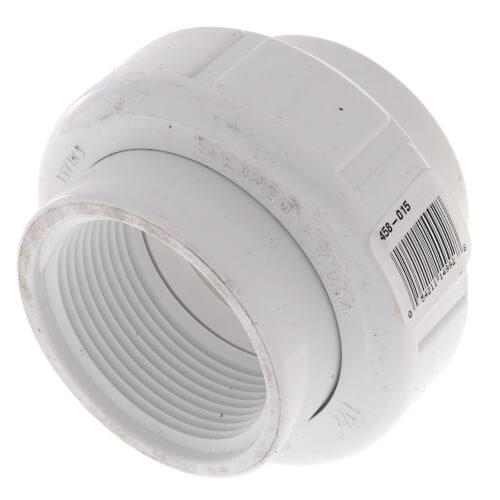 "1-1/2"" PVC Sch. 40 Female Union w/ Buna O-ring Product Image"
