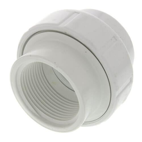"4"" PVC Sch. 40 Female Union w/ Buna O-ring Product Image"