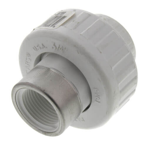 "1"" PVC Socket x SR Female Union w/ Buna O-ring Product Image"