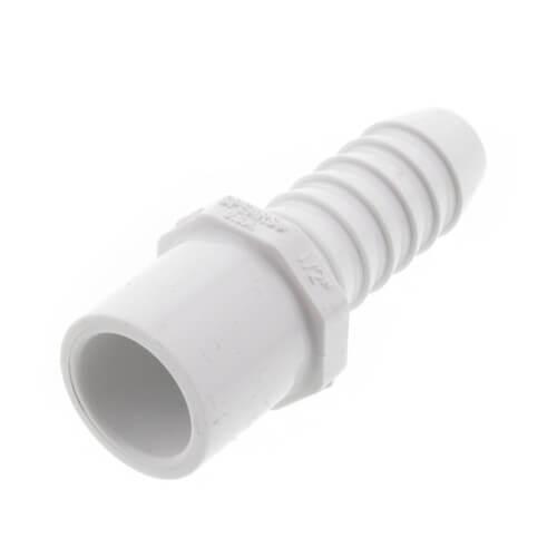 """1/2"""" PVC Schedule 40 Insert x IPS Spigot Adapter Product Image"""
