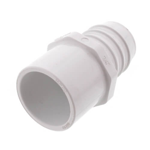 "1-1/4"" PVC Schedule 40 Insert x IPS Spigot Adapter Product Image"