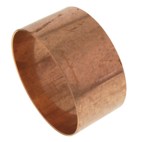 """3"""" Copper DWV Coupling Less Stop Product Image"""