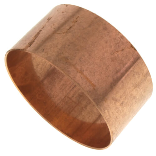 """4"""" Copper DWV Coupling Less Stop Product Image"""