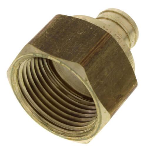 "3/4"" PEX x 1"" NPT Brass Female Adapter (Lead Free) Product Image"