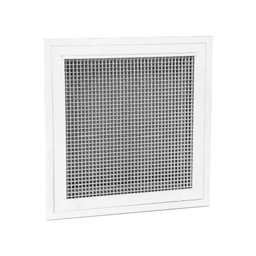 """20"""" x 20"""" (Wall Opening Size) Aluminum Egg Crate Filter Grille (REF5T) Product Image"""