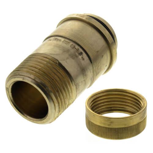 "3/4"" Male NPT x MANABLOC Supply Adapter (Zero Lead) Product Image"