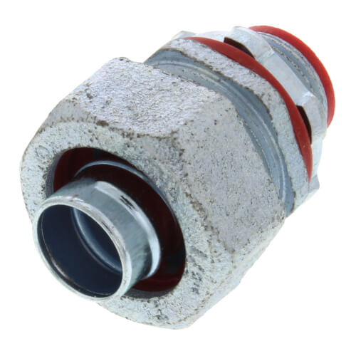 """1/2"""" Straight Malleable Iron Liquid Tight Fitting Product Image"""