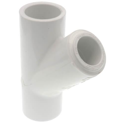 """3/4"""" x 3/4"""" x 1/2"""" PVC Sch. 40 Wye Product Image"""