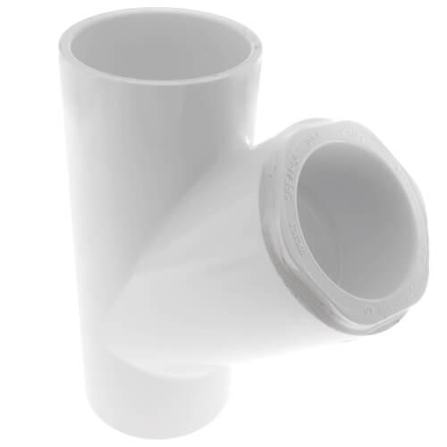 """2"""" x 2"""" x 1-1/2"""" PVC Sch. 40 Wye Product Image"""