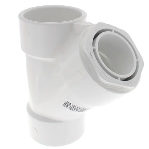 """3"""" x 3"""" x 2"""" PVC Sch. 40 Wye Product Image"""
