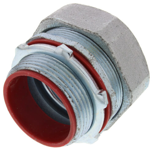 """1-1/2"""" Straight Malleable Iron Liquid Tight Fitting Product Image"""