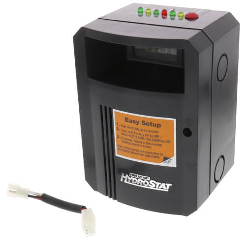 HydroStat Model 3200-Plus Fuel Smart Hydrostat for Gas Boilers (Temperature Limit, LWCO, & Boiler Reset Control) Product Image