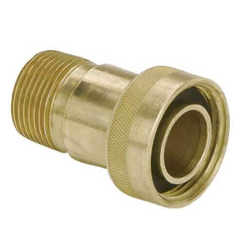 "1"" MPT x 1-1/4"" Swivel GeoFusion Adapter Product Image"