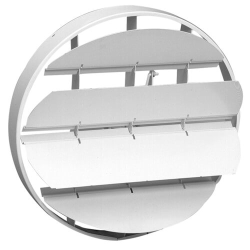 "19 Series 10"" Steel OBD Duct Mount Damper for #20 Ceiling Diffuser Product Image"