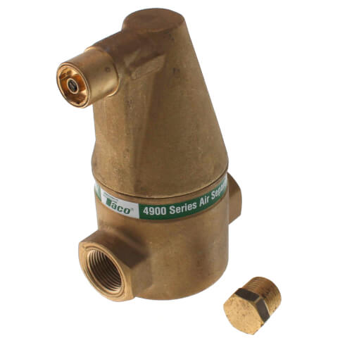"3/4"" Brass 4900 Series Air Separator (Threaded) Product Image"