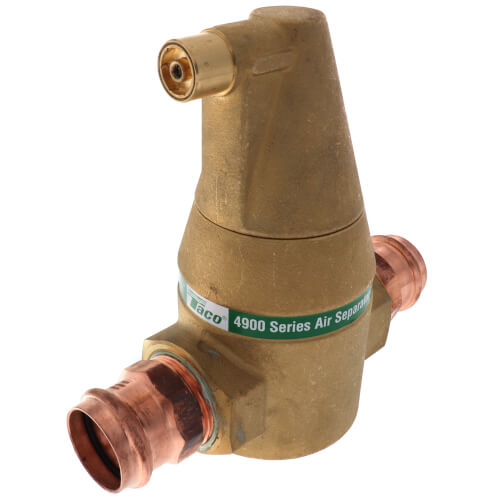 "1-1/4"" Brass 4900 Series Air Separator (Press) Product Image"
