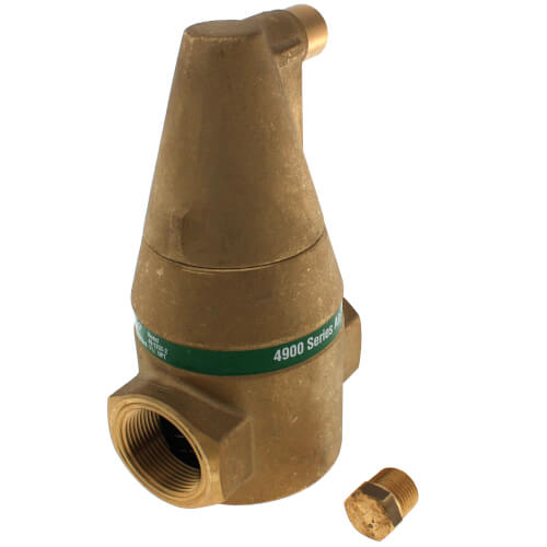 """1-1/4"""" Brass 4900 Series Air Separator (Threaded) Product Image"""