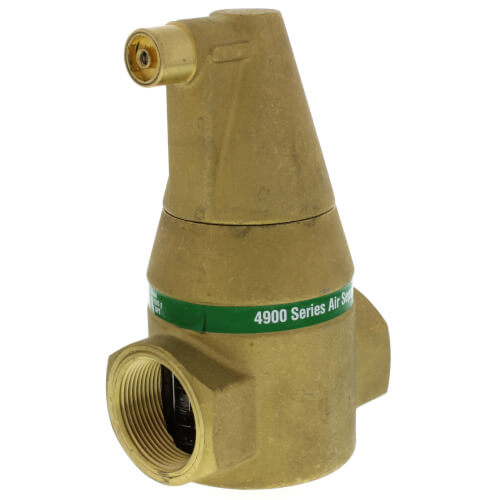 """1-1/2"""" Brass 4900 Series Air Separator (Threaded) Product Image"""