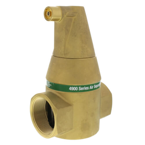 """2"""" Brass 4900 Series Air Separator (Threaded) Product Image"""